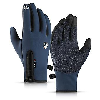 Unisex winddicht, splash-proof, Touch Screen Stof sporthandschoenen