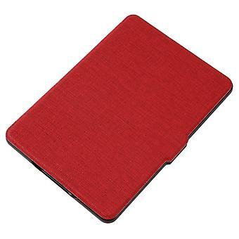 Capa protetora de couro pu magnético capa pele para protetor de impacto anti-poeira