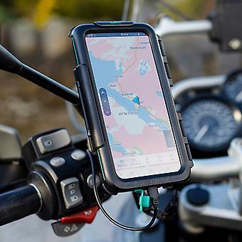 Scooter Spiegelhalterung & wasserdichte harte Fall für nokia Handys