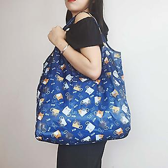 Reusable Eco Friendly Foldable Polyester Shopping Bag