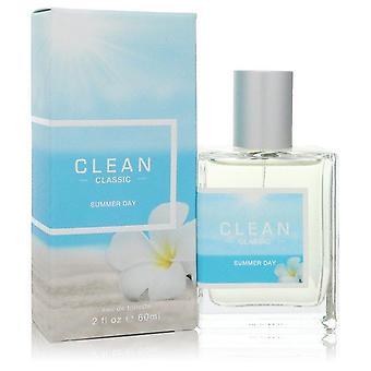 Clean Classic Summer Day Eau De Toilette Spray By Clean 2 oz Eau De Toilette Spray