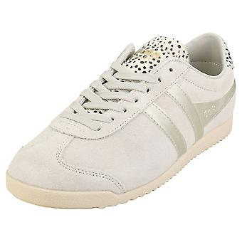 Gola Bullet Savanna Womens Mode Utbildare i Off White Cheetah