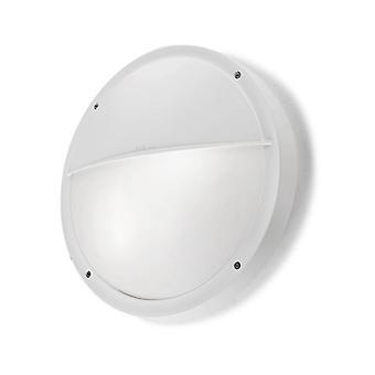 Aplique E27 Opal, Plástico Y Policarbonato, Blanco
