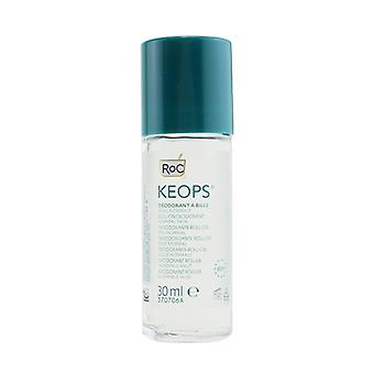 ROC KEOPS Roll-On Deodorant 48H - Alcohol Free & Not Perfumed (Normal Skin) 30ml/1oz