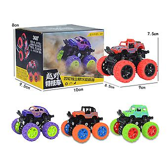 Children's four-wheel drive inertial off-road vehicle toy