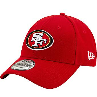 New Era 9FORTY San Francisco 49ers The League NFL Adjustable Baseball Cap - Rosso
