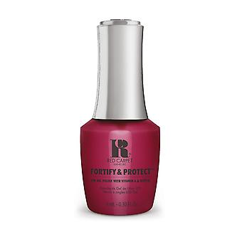 Red Carpet Manicure Fortify & Protect Gel Polish - Runway Darling
