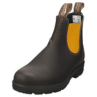 Blundstone 1919 Womens Chelsea Boots in Brown Mustard