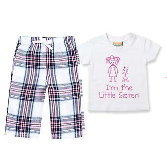 I'm Die kleine Schwester Tartan Hose Pyjamas