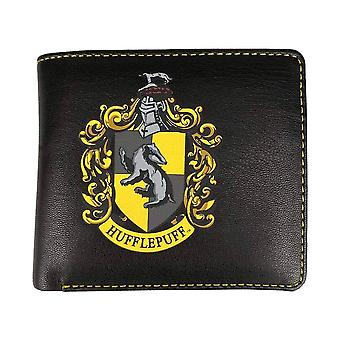 Harry Potter Hufflepuff Crest Bi-Fold Wallet