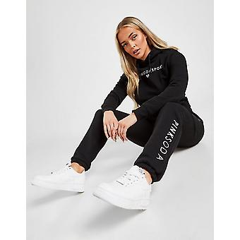 New Pink Soda Sport Women's Lyon Joggers from JD Outlet Black