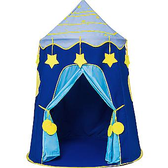 Boys Play Tent Indoor Baby Park Toy Kids Tent House Star Blue
