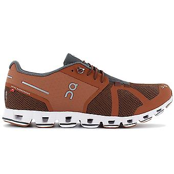ON Running Cloud - Men's Running Shoes Brown 19.99504 Sneakers Sports Shoes