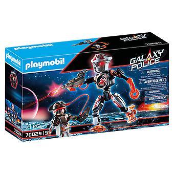 Playmobil Galaxy Police Space Pirates Robot