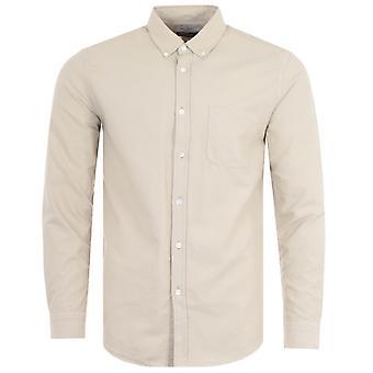 Portuguese Flannel Belavista Oxford Shirt - Sand