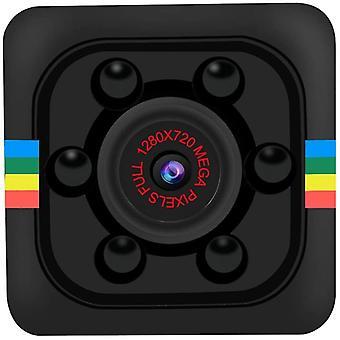 Mini 1080P HD Camera, Small DV Recorder Camcorder with Infrared Night Vision, DV Sport DV Camera Built-in Battery for Indoor, Outdoor DV Video Recorder-Black