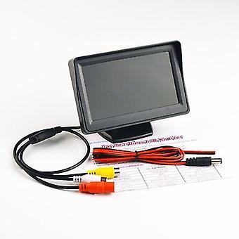 Monitor do espelho retrovisor do carro com 170 graus