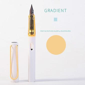 Luxury Quality Gradient Colors Business Office Fountain Pen Student School