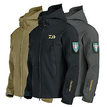 Daiwa Fishing Jackets Mannen Warm Dikke Fleece Viskleding