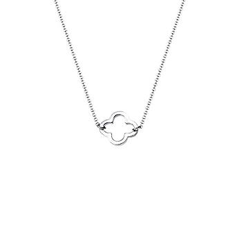 Elli Women's Four-Leaf clover Pendant Necklace in Silver 925(2)