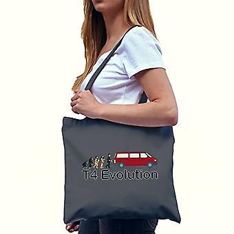 Texlab VEND-135403, Unisex Fabric Bag Adult, Grey, 38 cm x 42 cm