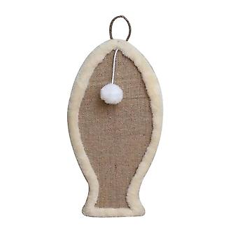 Cat Scratching Board Sisal Mat Wear-resistant Cat Claw Grinding Pad