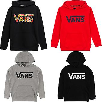 Vans Boys Classic PO Pullover Bomull Casual Hooded Jumper Hoodie Top