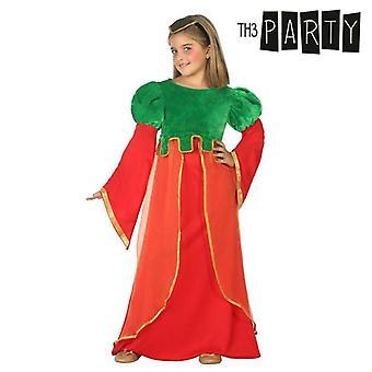 Puku lapsille Keskiaikainen nainen Punainen