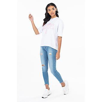 Hype naisten/naisten splat T-paita