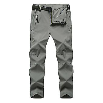 Homme & s Solid Color Straight Breathable Casual Pants