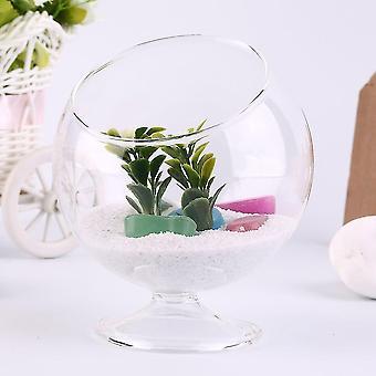 Einzigartige Home Decor Hydroponic Aquarium Fisch Glas Vase Tank Pflanze Behälter