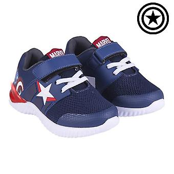 LED Trainers The Avengers Blue