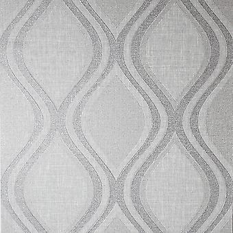 Arthouse Curve Grey Wallpaper 295101