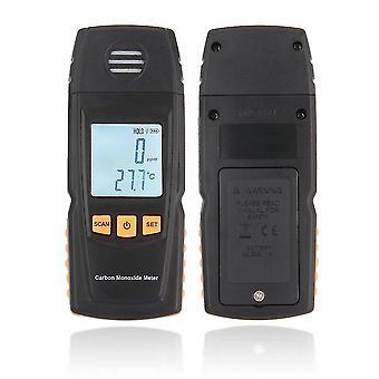 Lcd digitaalinen hiilimonoksidi kädessä pidettävä mittari Co Kaasutestaajan ilmaisin mittari