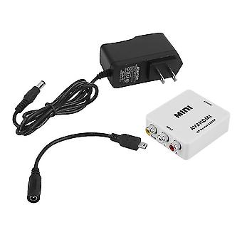 ミニ Rca Av から HDMI コンバーター アダプター コンポジット Av2hdmi コンバーター 1080p DVD