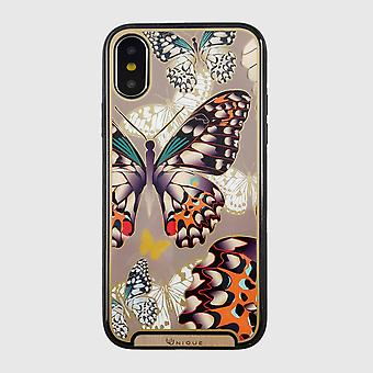 Printed butterfly iphone xs / x case