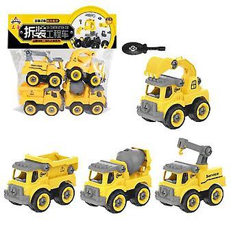 Kinder's Abnehmbare Engineering Fahrzeug Spielzeug Typ B