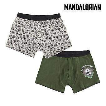 Men's Boxer Shorts The Mandalorian Multicolour (2 uds)