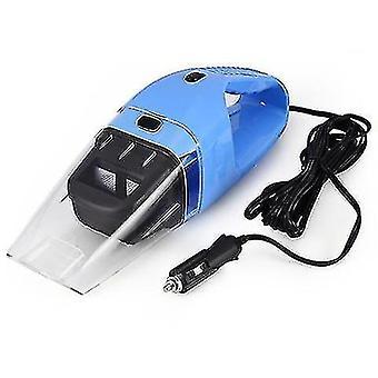 الفراغات المحمولة عالية الطاقة 100w مكنسة كهربائية لسيارة زرقاء