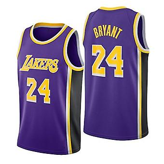 Los Angeles Lakers Kobe Bryant Loose Basketball Jersey Maillots de sport