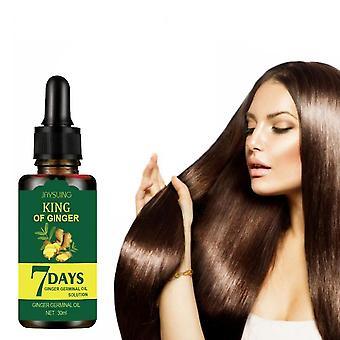 Qian 3 Pack Gingembre Huile Germinale Sérum de Croissance des Cheveux Huile Essentielle Traitement Perte de Cheveux Soins capillaires