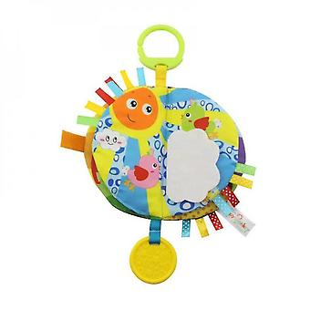 Qian Baby Cloth Hanging Educational Books, 0-12-24 Months Old Childrens Early Education Toys, -b