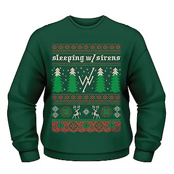 Sleeping With Sirens Christmas Tree Jumper