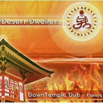 Desert Dwellers - Down Temple Dub: Flames [CD] USA import