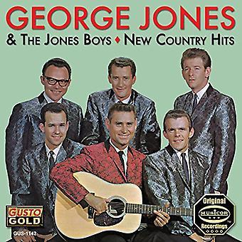 George Jones - nya Country Hits [CD] USA import