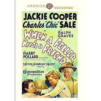When a Feller Needs a Friend [DVD] USA import