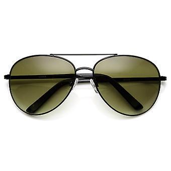 Unisex rund um Metal Tear Drop Pilotenbrille