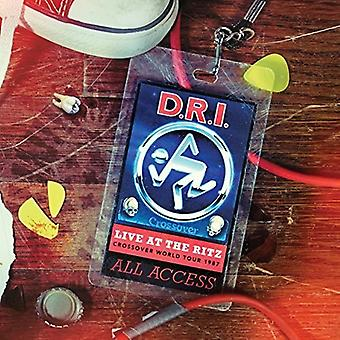 D.R.I. - Live at the Ritz 1987 [CD] USA import