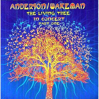 Anderson & Wakeman - Living Tree Live [CD] USA import
