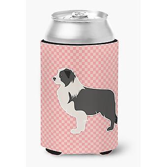 Розовый черный бордер колли шахматной доски можно или бутылка Hugger